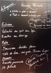 Menu Le Langonnais - La nouvelle formule