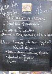 Menu Le Corterate - Exemple de menu