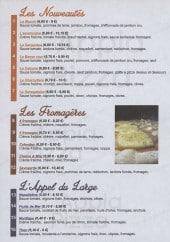 Menu Appia Pizza - Les pizzas