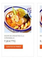 Menu Thaï Paradise - Les soupes
