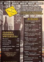 Menu American Café - Les burgers, viandes, poissons...