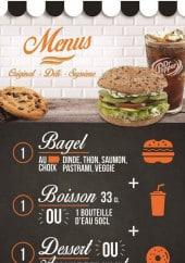Menu Bagel corner - Carte et menu Bagel corner Montpellier
