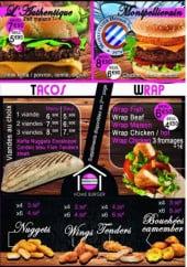 home burger montpellier carte menu et photos. Black Bedroom Furniture Sets. Home Design Ideas