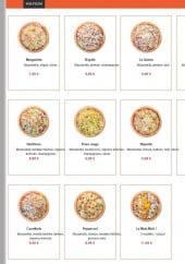 Menu La Crise Pizza - Les pizzas