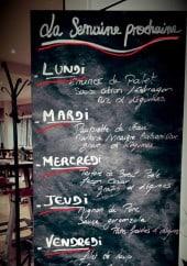 Menu La Fabrique - Le menu de la semaine