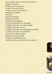 Menu Le Mandarin - Les spécialités