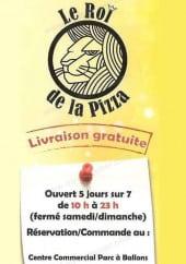 Menu Le Roi De La Pizza - Carte et menu Le Roi De La Pizza Montpellier