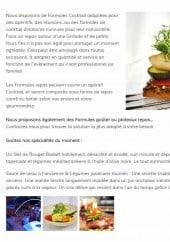 Menu Le traiteur d'Elia - Le menu traiteur