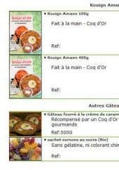 Menu Au Mazet de Grand Mémé - Les Kouign Amann et autre gâteaux