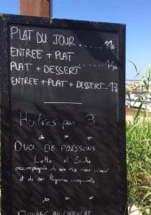 Menu Le Cosy - Exemple de suggestions du jour