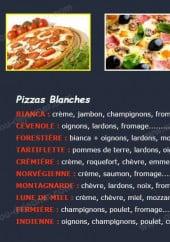Menu Napoli Pizza - Les pizzas suite