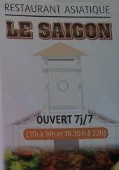 Menu Le Saïgon - Carte et menu Le Saïgon Agde