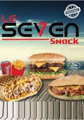 Menu Snack le seven - Carte et menu Snack le seven Agde