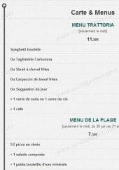 Menu Solemio - Les menus