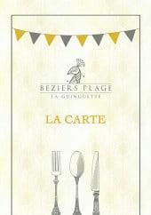 Menu Béziers Plage - Carte et menu Béziers Plage Beziers