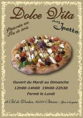 Menu Dolce Vita - Carte et menu Dolce Vita Beziers