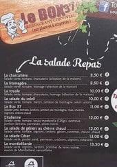 Menu Le Box 37 - Les salades repas