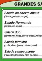 Menu Capucine's - Les grandes salades