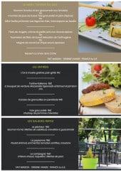 Menu Les Coulondrines - Le menu saveurs, entrées et salades