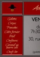 Menu Au Blé Gourmand - Menu à la carte