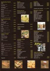 Menu Stratto - Sandwiches, salades, desserts,...