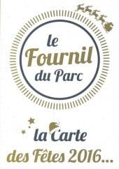 Menu Le Fournil du Parc - Carte et menu Le Fournil du Parc Lecousse