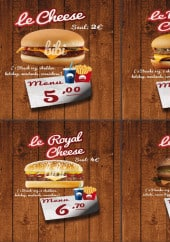 Menu Bibi Burger - Chees, biggy,...