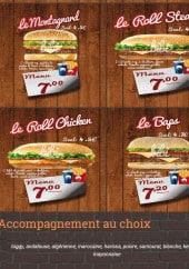 Menu Bibi Burger - Les rolls, bags,...