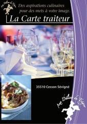 Menu Aux Delices du Tregor - Carte et menu Aux Delices du Tregor Rennes