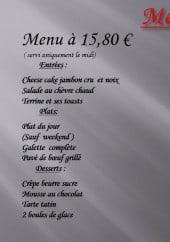 Menu Le Pourquoi Pas - Les menus