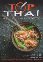 Menu Top Thai - Carte et menu Top Thai Betton