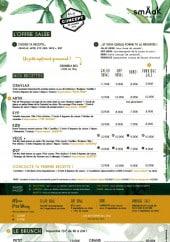 Menu SmÄak Natural Food - Offres salés, menus et brunch