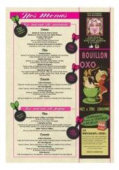 Menu Mamie Bigoude - Les menus