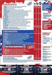 Menu Pizza Délice - La Carte