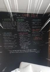 Menu Carpé Diem - Exemple de menu