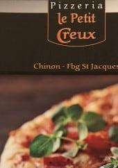 Menu Le petit creux - Carte et menu Pizzeria le petit creux Chinon