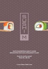 Menu Sushi M - carte et menu Sushi M.  Loches