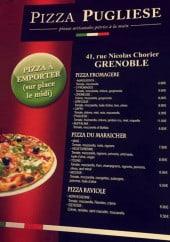Menu Pizza pugliese - Les pizzas
