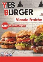 Menu Yes Burger - Carte et menu Yes Burger Grenoble