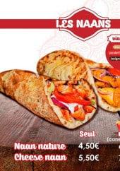 Menu So Good Tandoori - Les naans