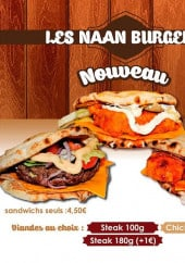 Menu So Good Tandoori - Les naans burgers