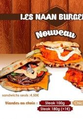 Menu So Good Tandoori - Les naans burgers