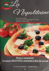 Menu La Napolitaine - Carte et menu La Napolitaine Vienne