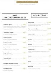 Menu Le Camp de Base - Incontournables et pizzas