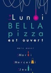 Carte et menu Bella Pizza Bourgoin Jallieu