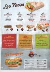Menu Royal Food - Tacos, burgers, sauces,...