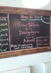 Menu Le Bistrot des Marais - Exemple de menu
