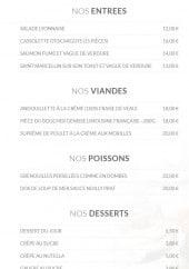 Menu Au Mandrin - Les entrées, les viandes, les poissons ...