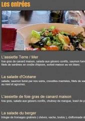 Menu Restaurant Le Valgo - Les entrées