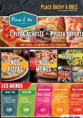 Menu Pizza L'Two - Carte et menu Pizza L'Two Dole